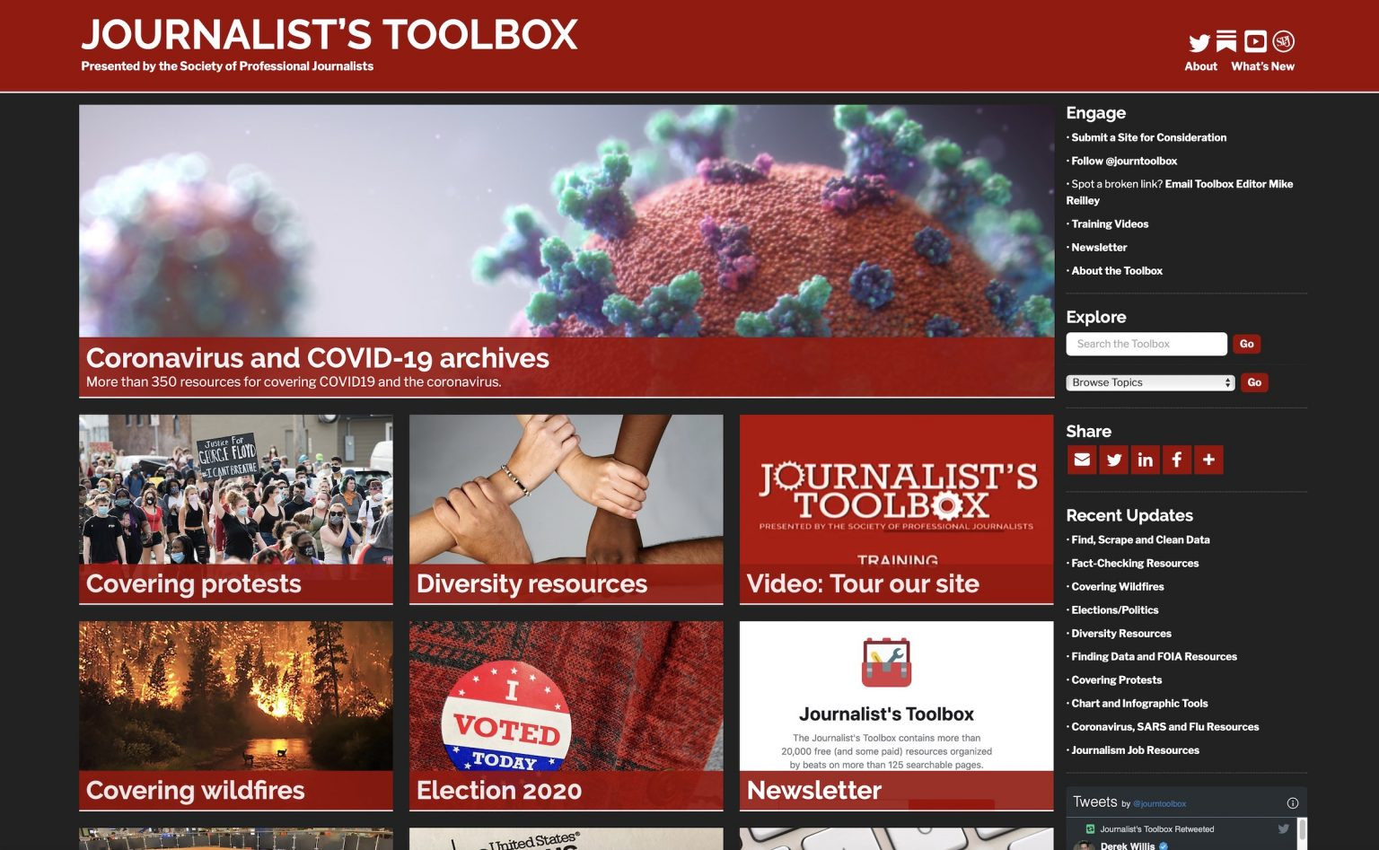 The Journalist's Toolbox (Or: How to rebuild a house from the ground up without getting any dirt on ...