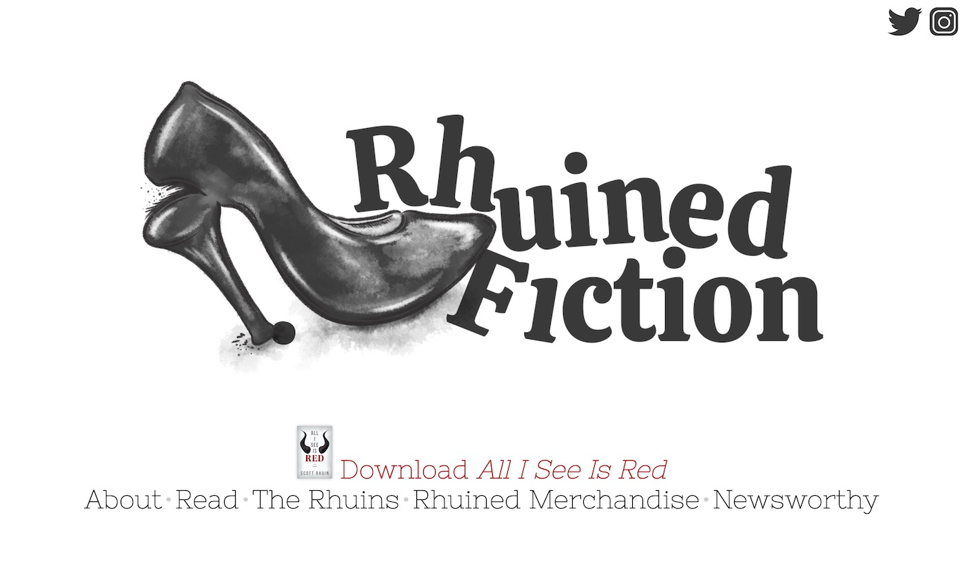 Rhuined Fiction: Website Edition
